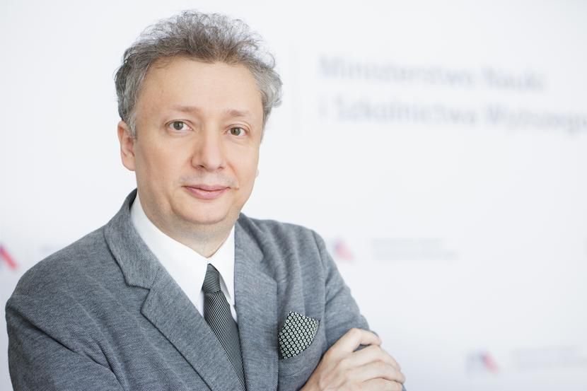 Wiceminister finansów Sebastian Skuza