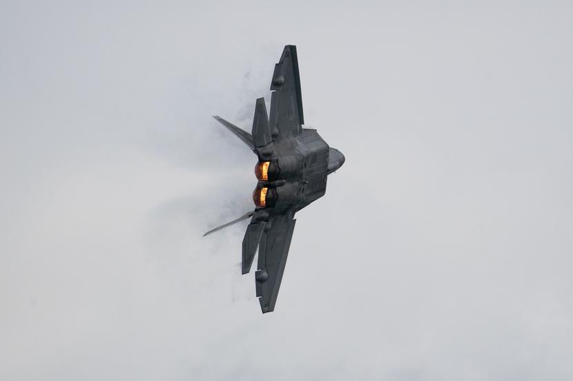 Air Force F-22 Raptor wyprodukowany przez koncern Lockheed Martin