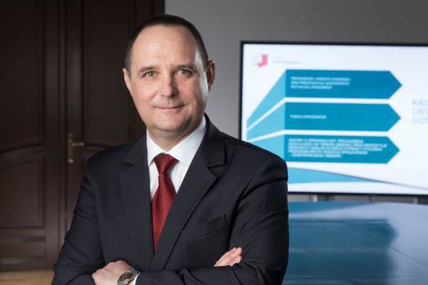 Przemysław Sztandera, prezes zarządu Pomorskiej Specjalnej Strefy Ekonomicznej