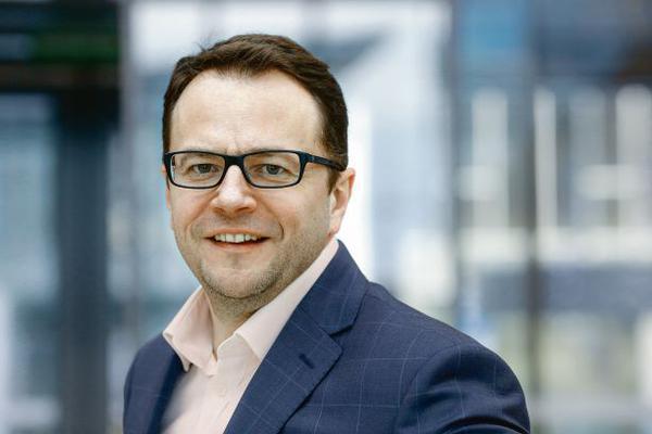 Jarosław Jaworski, prezes firmy Coface Poland