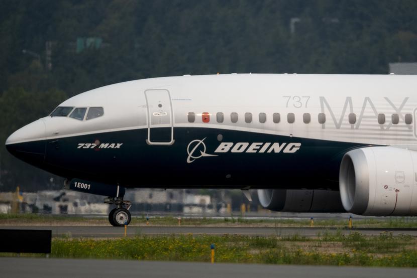 Boeing 737 MAX Fot. Bloomberg