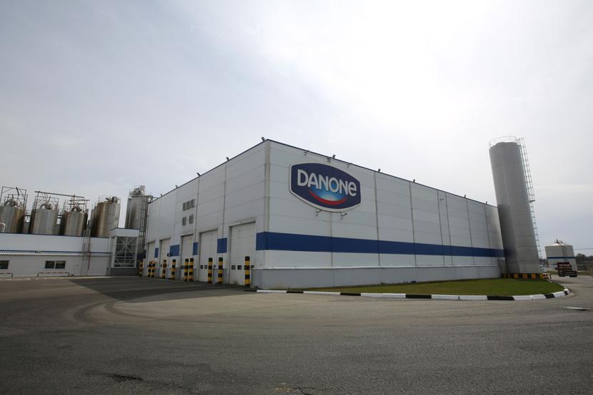 Jeden z zakładów produkcyjnych Danone