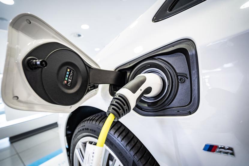 Samochód elektryczny BMW