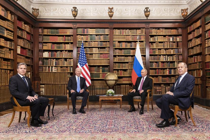 Joe Biden, Władimir Putin