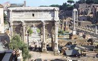 Rzymski łuk triumfalny uratują bakterie