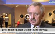 Prof. Witold Tłustochowicz o leczeniu zapaleń naczyń [WIDEO]