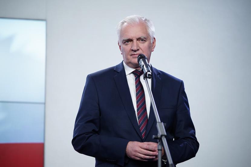 Jarosław Gowin fot. Mateusz Wlodarczyk / Forum