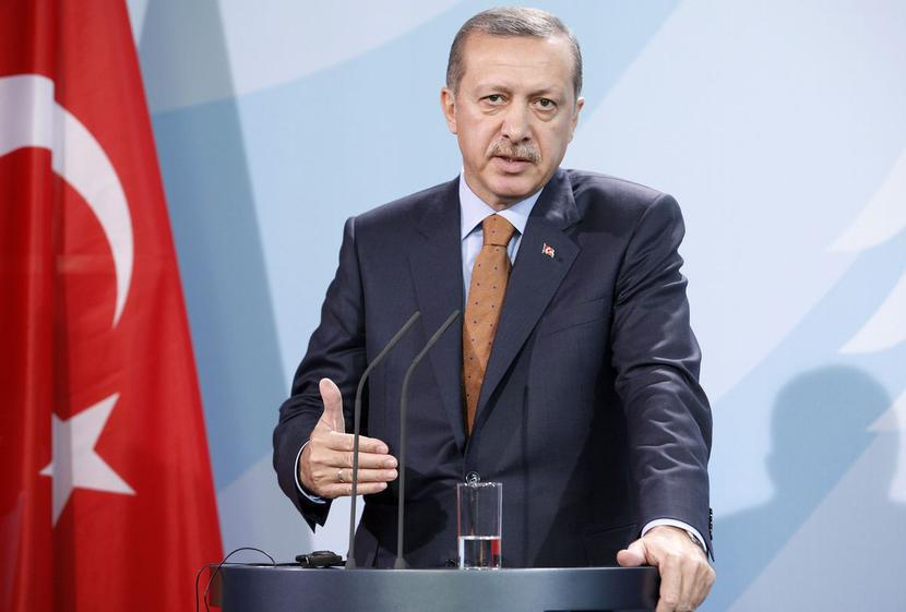Recep Tayyip Erdogan, fot. Bloomberg