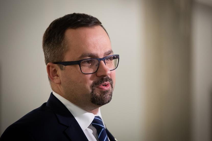 Marcin Horała. fot.Mateusz Włodarczyk / Forum