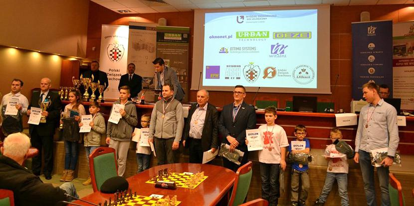 Pierwsze mistrzostwa Polski branży okiennej w szachach, 2017 r.