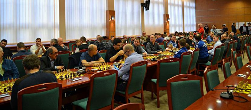 Pierwsze mistrzostwa Polski branży okiennej w szachach rozegrane w 2017 r.