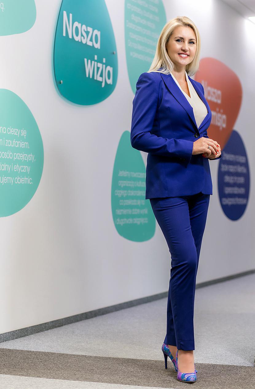 Agnieszka Kłos, prezes Provident Polska