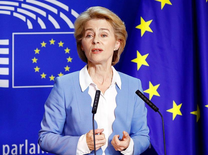 Ursula von der Leyen, fot. Bloomberg