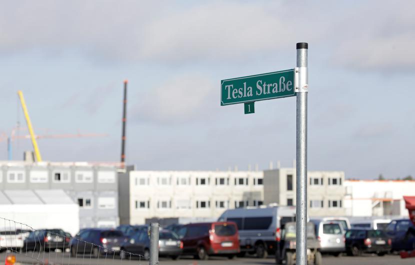 Tesla Gigafactory Gruenheide w pobliżu Berlina