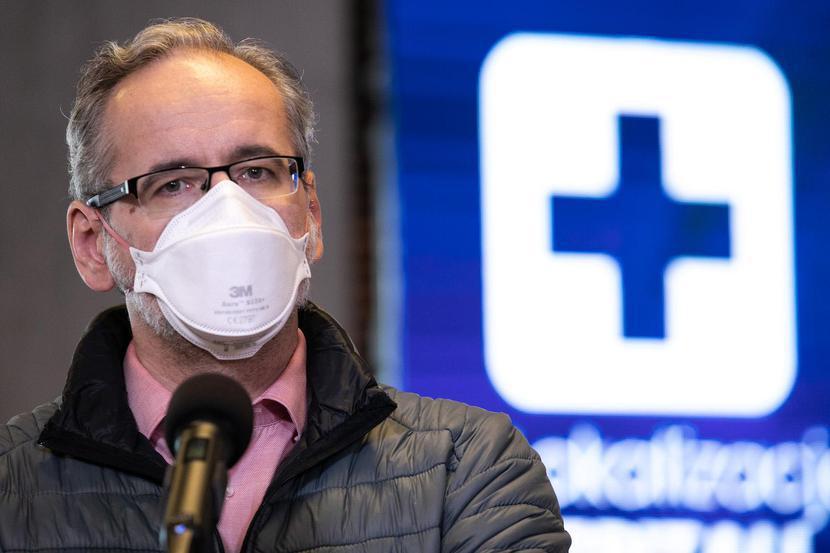 Adam Niedzielski, fot. Andrzej Hulimka / Forum