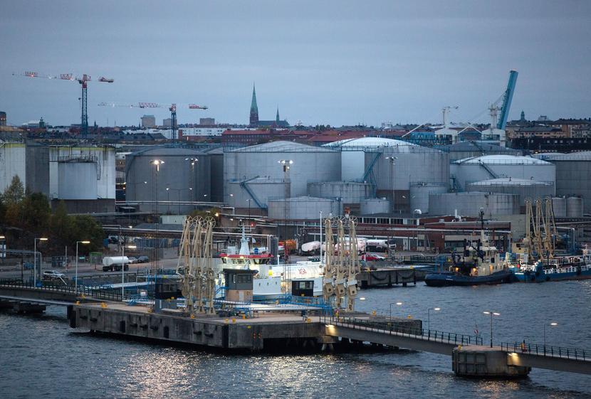 Port w Sztokholmie, Szwecja