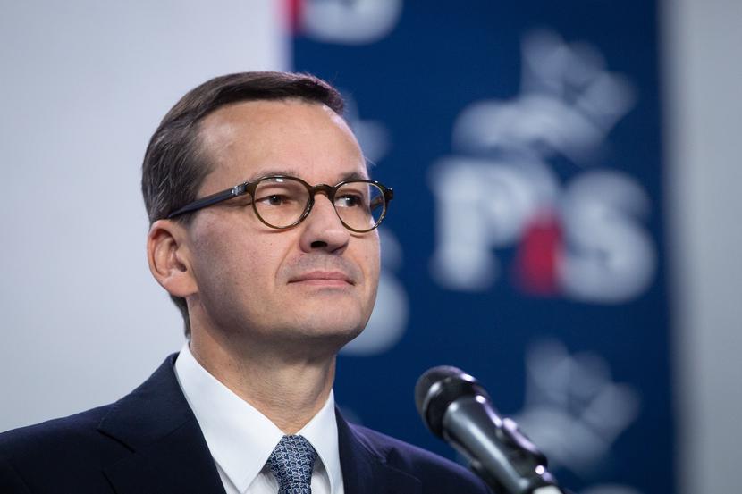 Mateusz Morawiecki, fot. Mateusz Włodarczyk/Forum