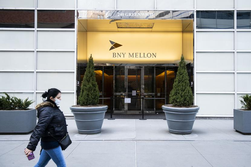 Bank of New York Mellon  Fot. Bloomberg