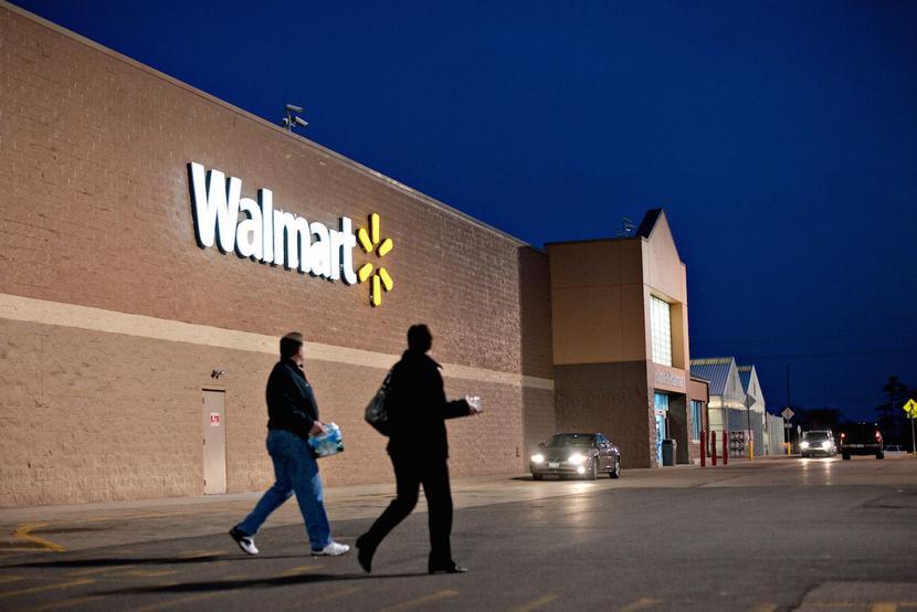 Jeden z supermarketów sieci Walmart