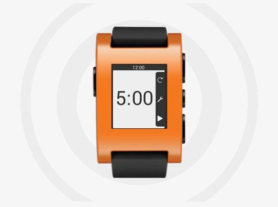 Smartwatch Pebble fot. Pebble