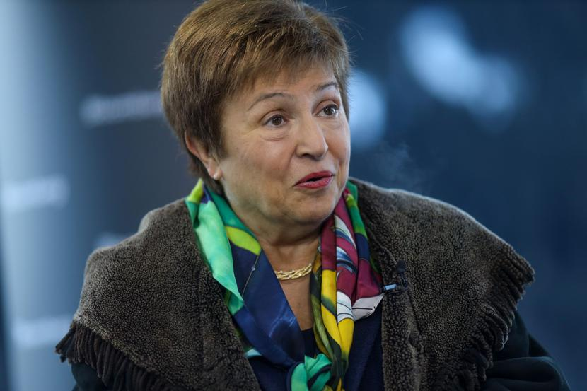 Kristalina Georgiewa, fot. Bloomberg