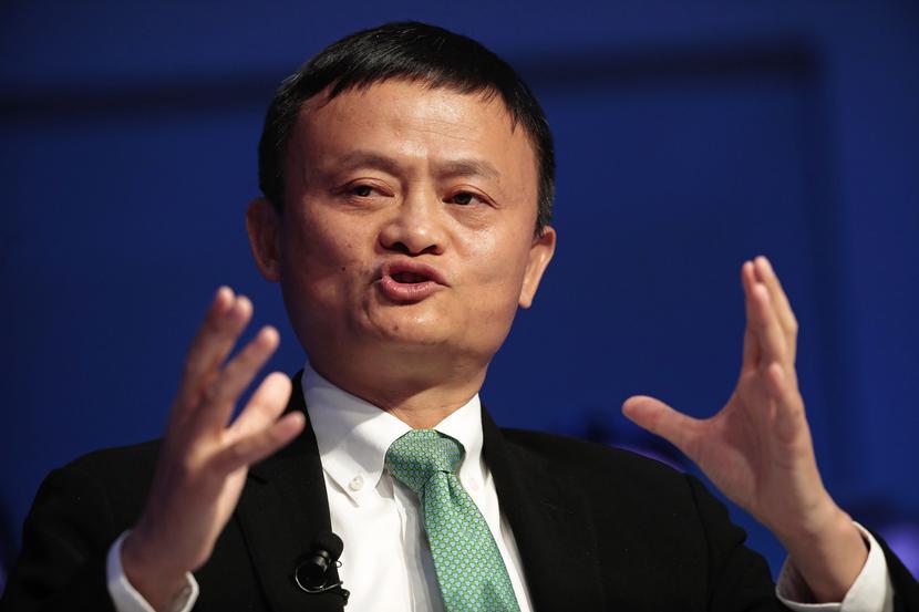 Jack Ma, założyciel i prezes Alibaba Group Holding