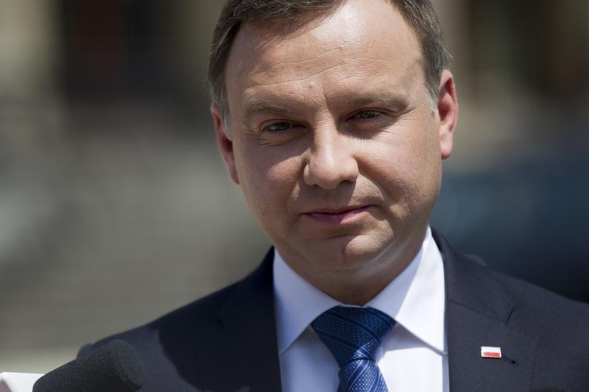 Andrzej Duda, fot. Lukasz Gagulski / FORUM