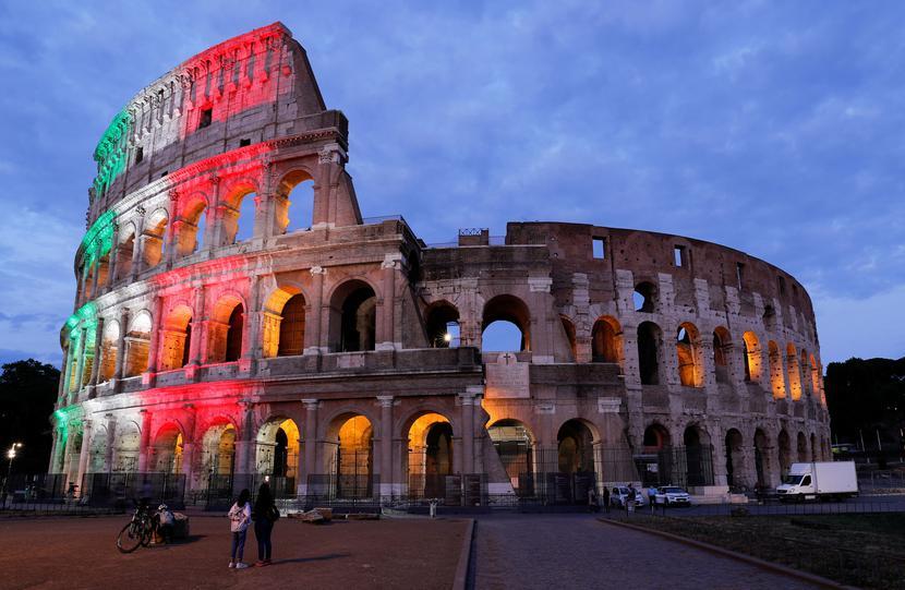 Colosseum, Rzym, Włochy fot. REMO CASILLI/Reuters/Forum