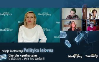 """Konferencja """"Polityka lekowa"""". Choroby cywilizacyjne: krajobraz w trakcie i po pandemii"""