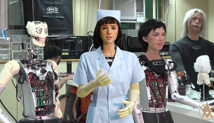 robot grace awakening health