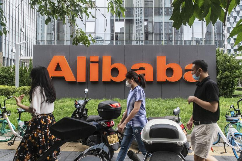 Alibaba Group Holding fot. Gilles Sabrie/Bloomberg