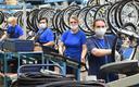 Fabryka rowerów w wieżowcu