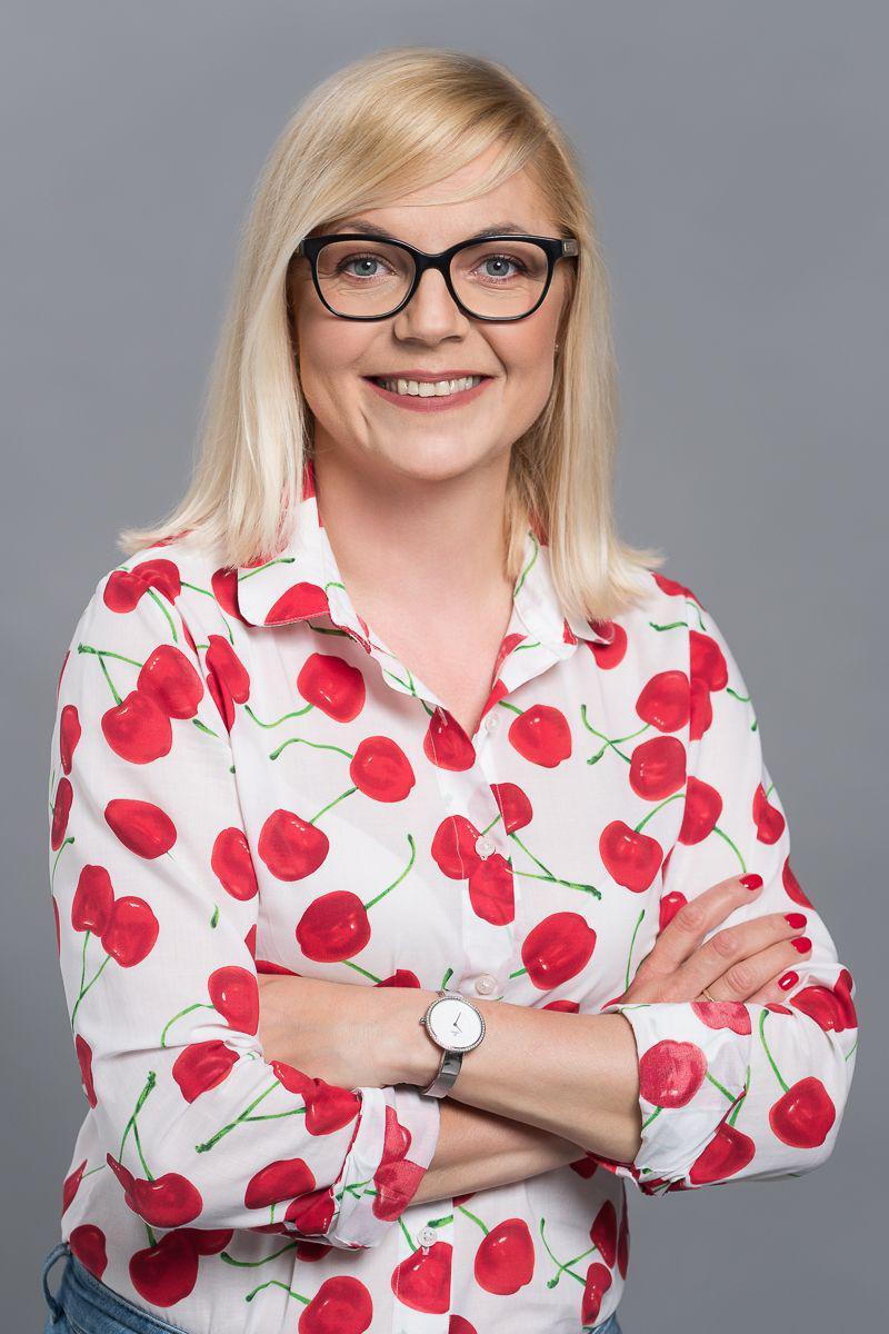 """Katarzyna Oracz, Certyfikowany manager szczęścia & twórczyni projektu """"More Happiness at Work"""""""