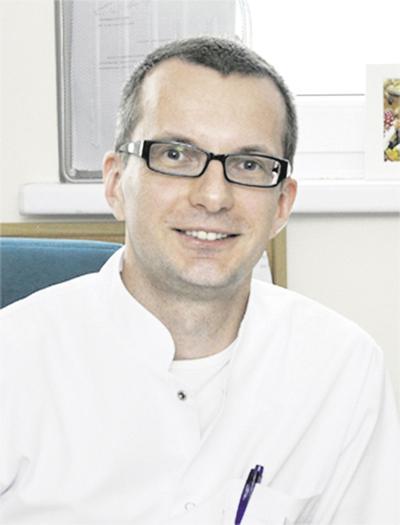 Prof. dr hab. n. med. Marcin Gruchała, kierownik I Katedry i Kliniki Kardiologii Gdańskiego Uniwersytetu Medycznego, rektor GUMed