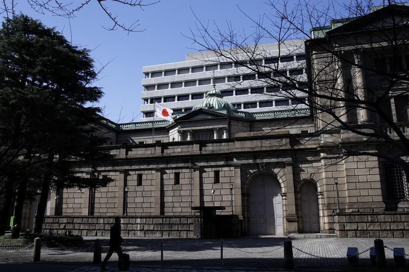 Siedziba Banku Japonii w Tokio
