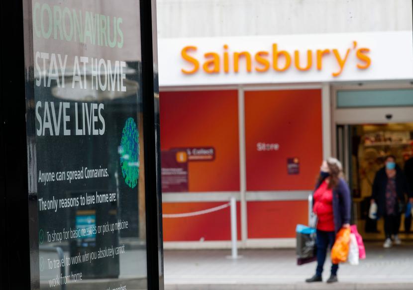 Sainsbury's fot. Bloomberg