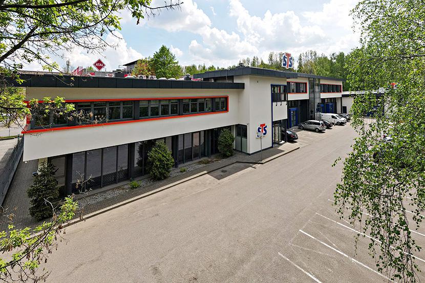 Odnowiona siedziba firmy STS w Katowicach