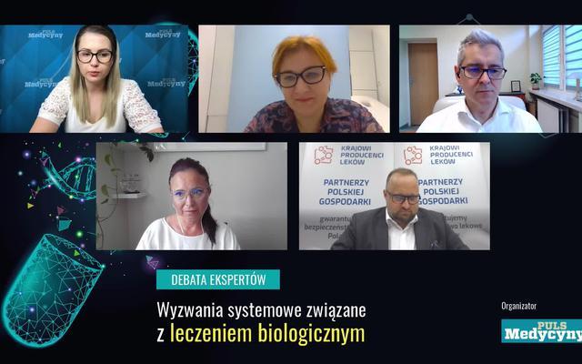 Wyzwania systemowe związane z leczeniem biologicznym