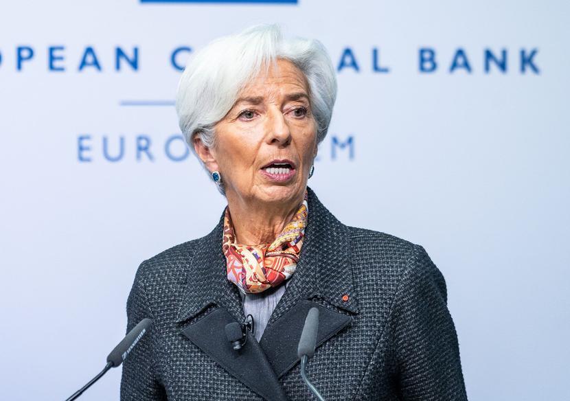 Christine Lagarde, szefowa EBC
