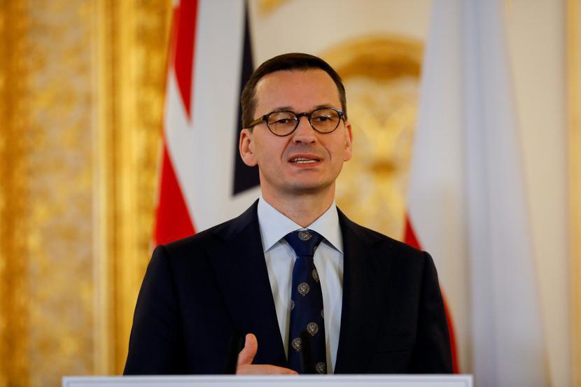 Mateusz Morawiecki, fot. Bloomberg