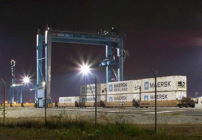 Kontenery Maersk
