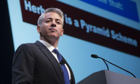 Bill Ackman, fot. Bloomberg