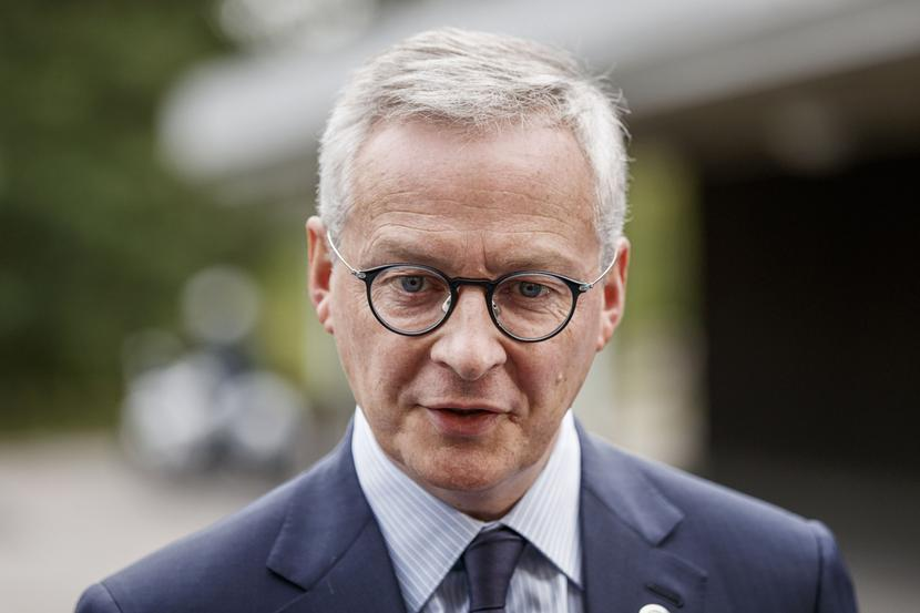 Bruno Le Maire, fot. Bloomberg
