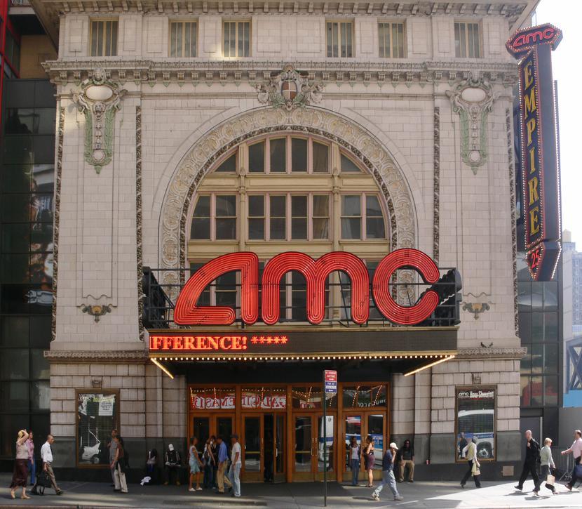 Jedno z kin sieci AMC w Nowym Jorku