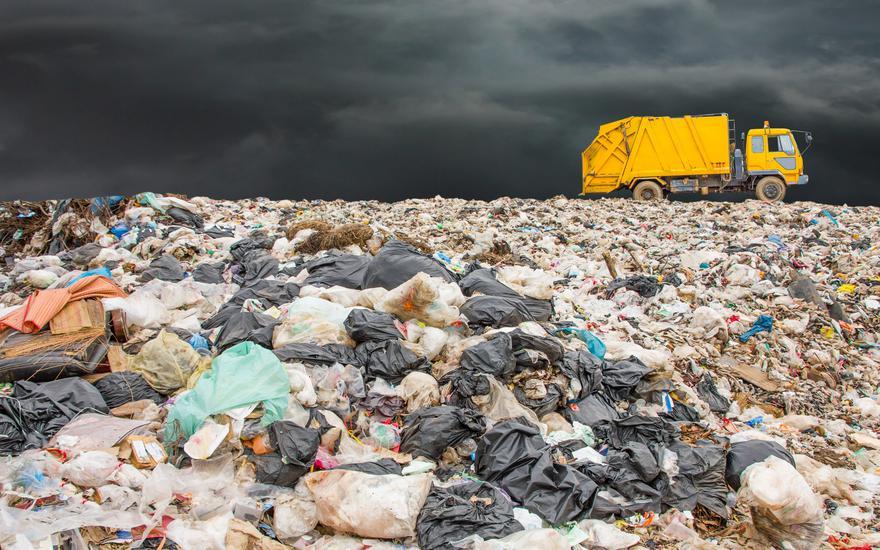 Zasypie nas lawina śmieci