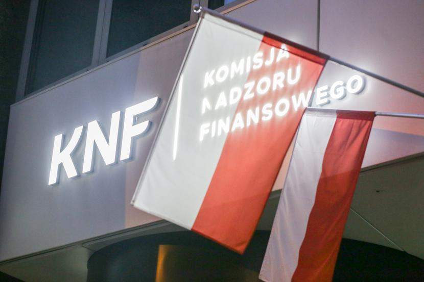Siedziba KNF w Warszawie