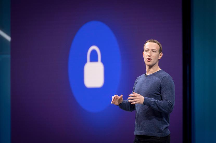 Mark Zuckerberg, prezes Facebooka, fot. Bloomberg