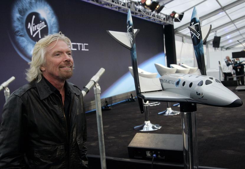 Richard Branson, fot. Bloomberg