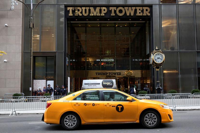 Budynek Trump Tower na Manhattanie w Nowym Jorku