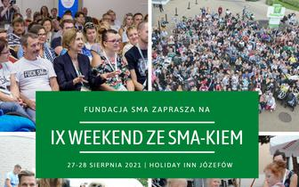 IX Weekend ze SMA-kiem: spotkanie dla chorych na SMA i ich rodzin